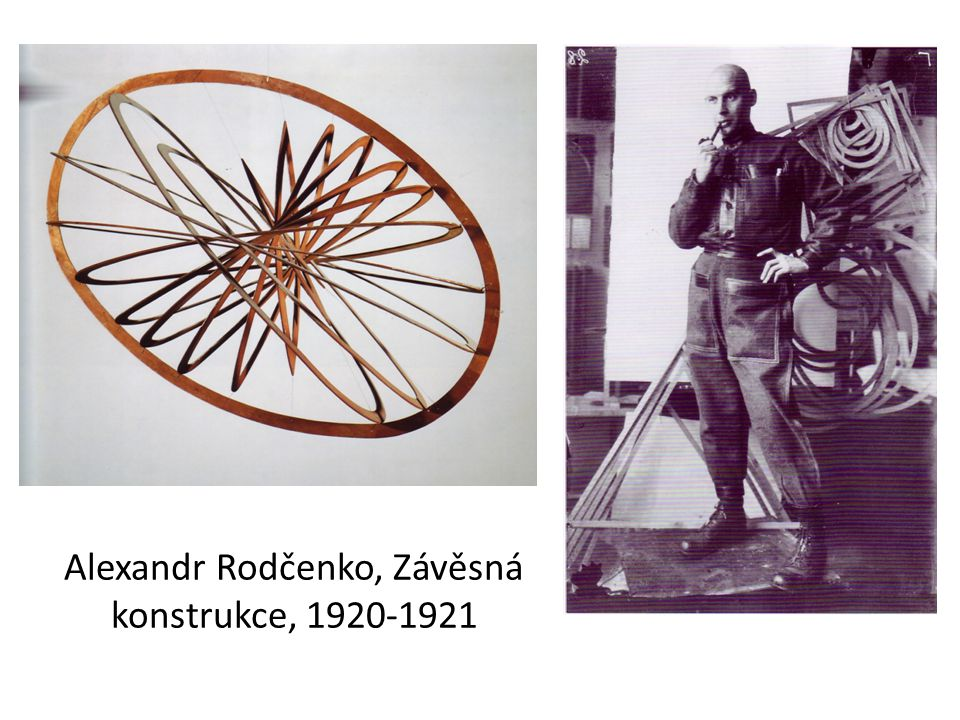 Alexandr Rodčenko, Závěsná konstrukce, 1920-1921