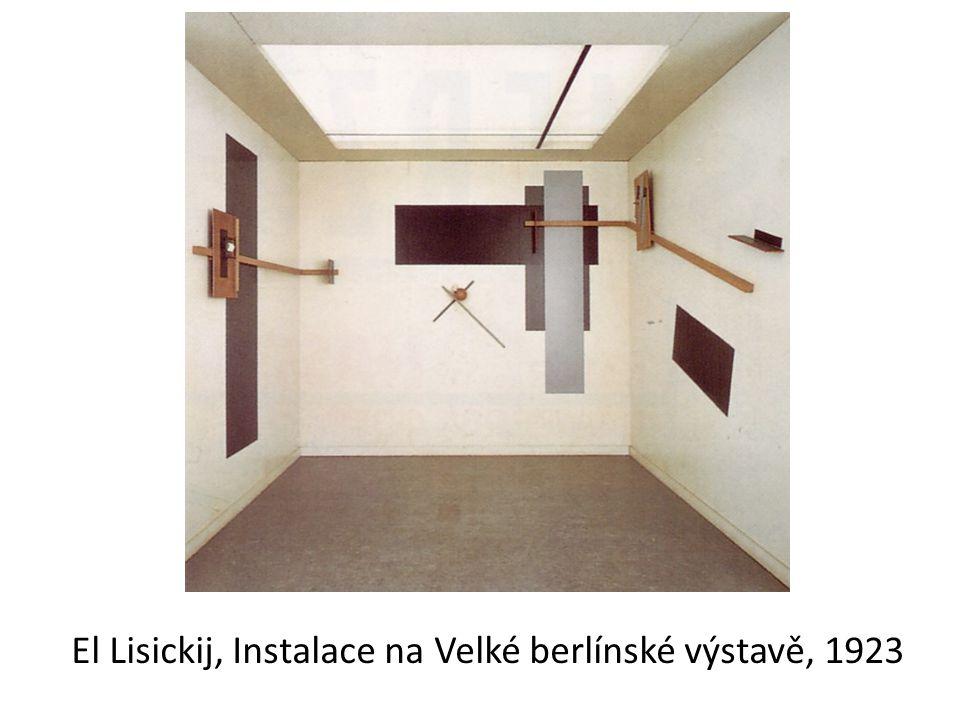 El Lisickij, Instalace na Velké berlínské výstavě, 1923