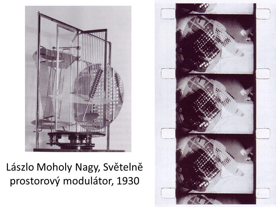 Lászlo Moholy Nagy, Světelně prostorový modulátor, 1930
