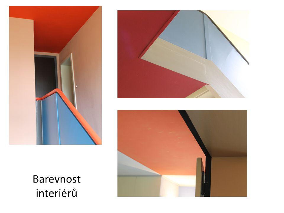 Barevnost interiérů