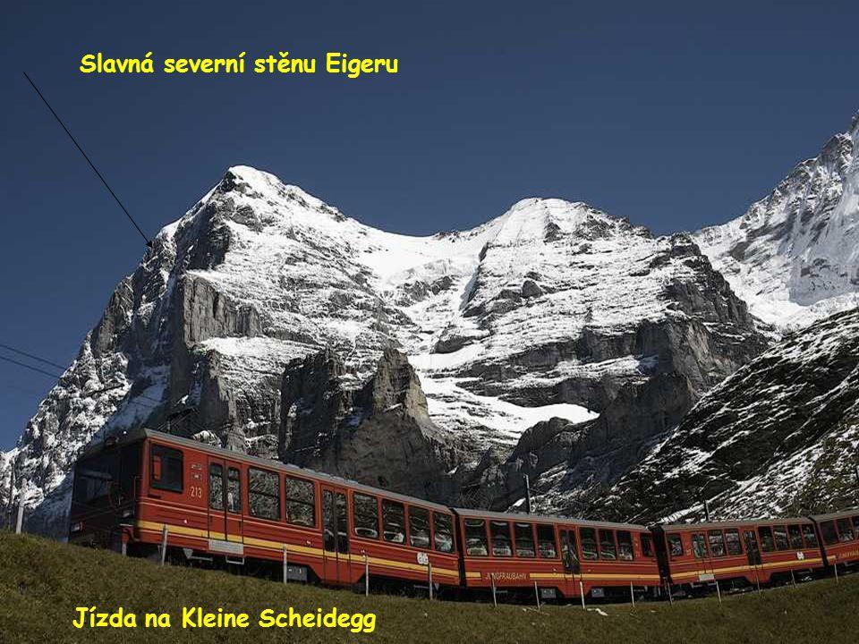Slavná severní stěnu Eigeru