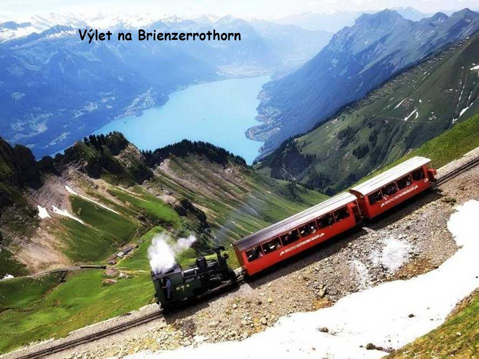 Výlet na Brienzerrothorn