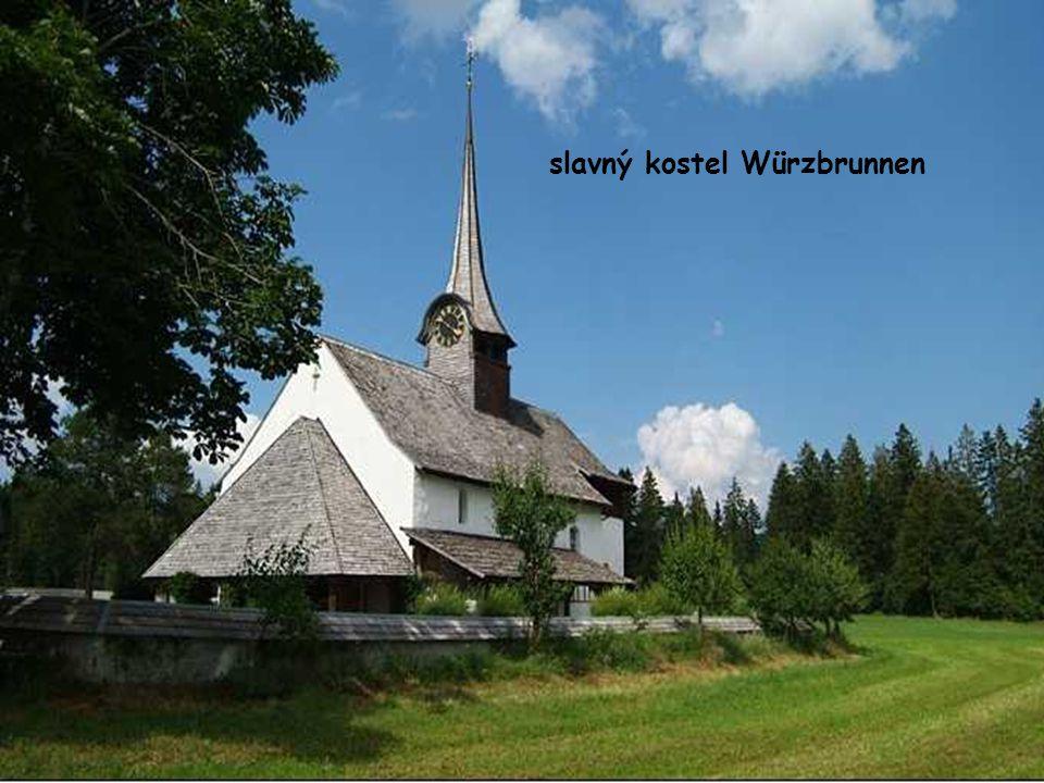 slavný kostel Würzbrunnen