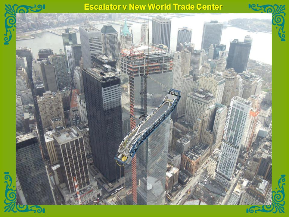 Escalator v New World Trade Center