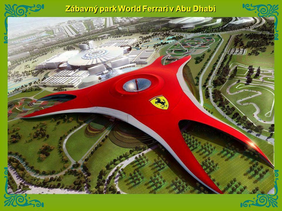 Zábavný park World Ferrari v Abu Dhabi