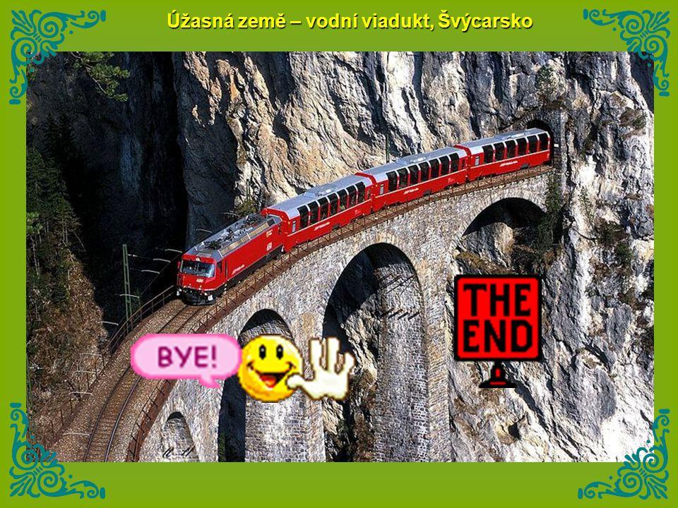 Úžasná země – vodní viadukt, Švýcarsko