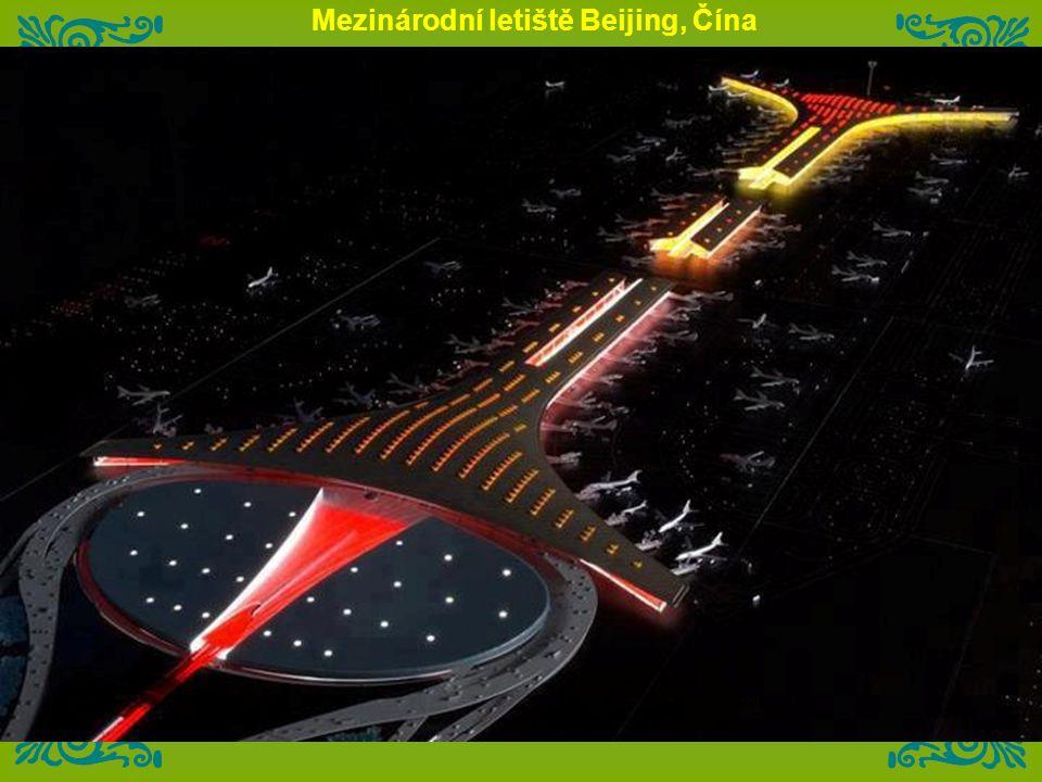 Mezinárodní letiště Beijing, Čína