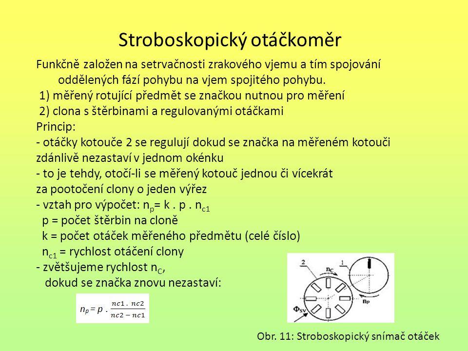 Stroboskopický otáčkoměr