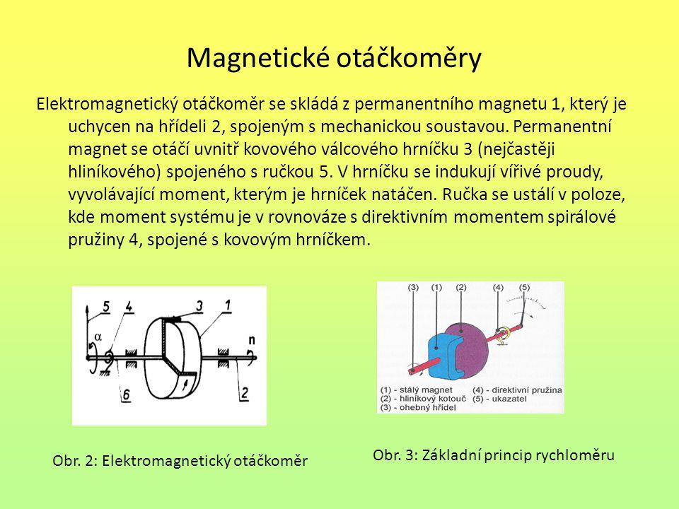 Magnetické otáčkoměry