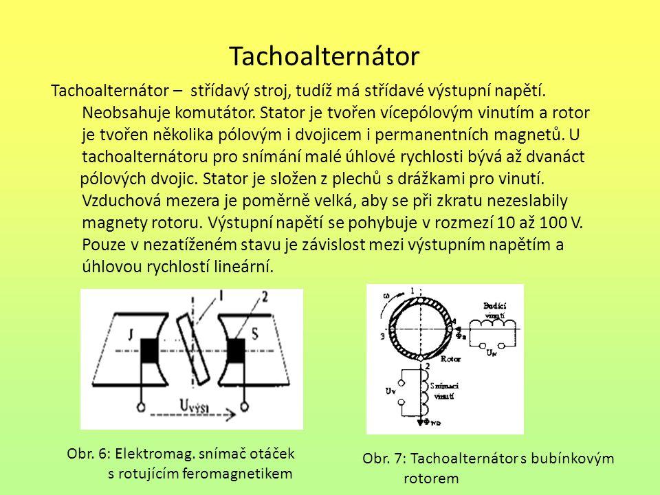 Tachoalternátor