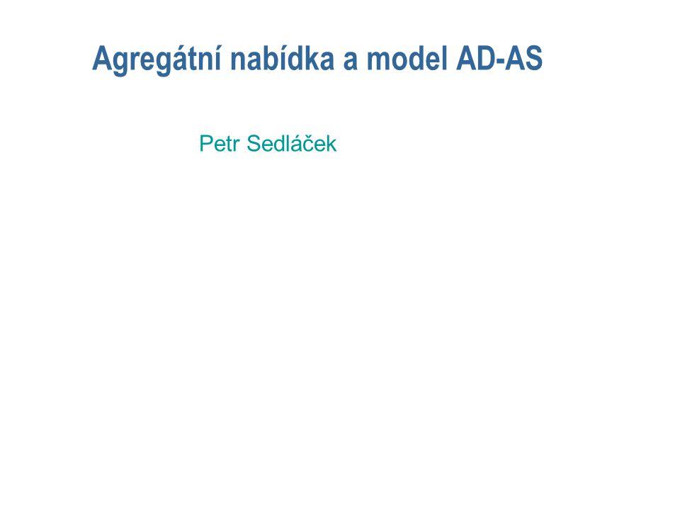 Agregátní nabídka a model AD-AS