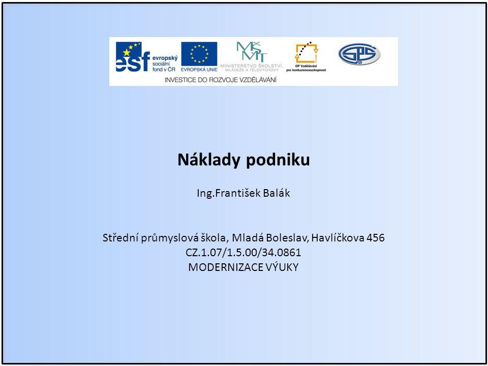 Střední průmyslová škola, Mladá Boleslav, Havlíčkova 456