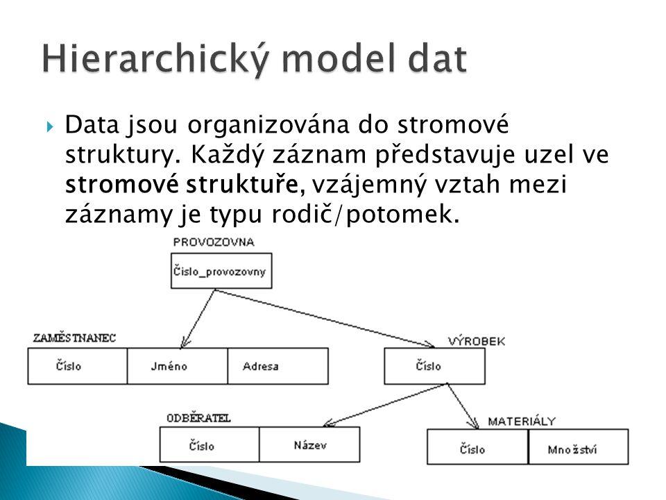 Hierarchický model dat