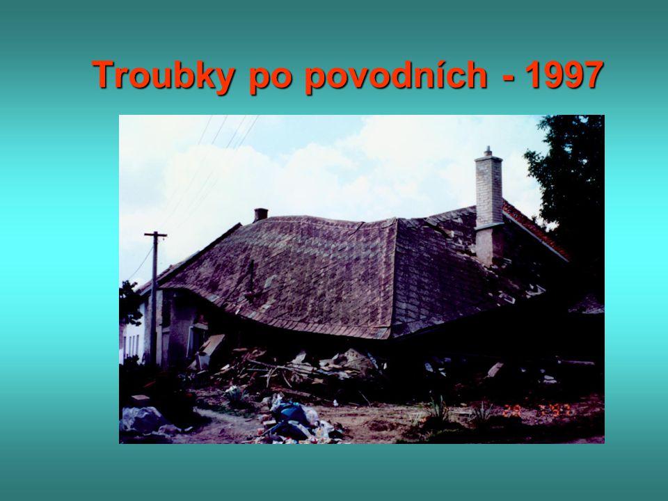 Troubky po povodních - 1997