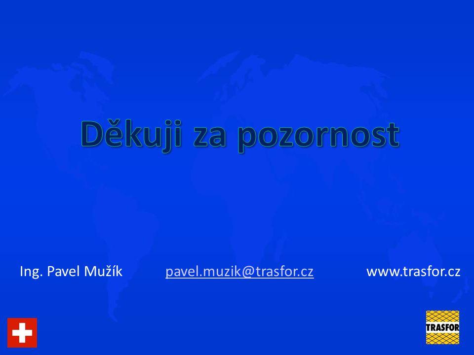 Děkuji za pozornost Ing. Pavel Mužík pavel.muzik@trasfor.cz www.trasfor.cz