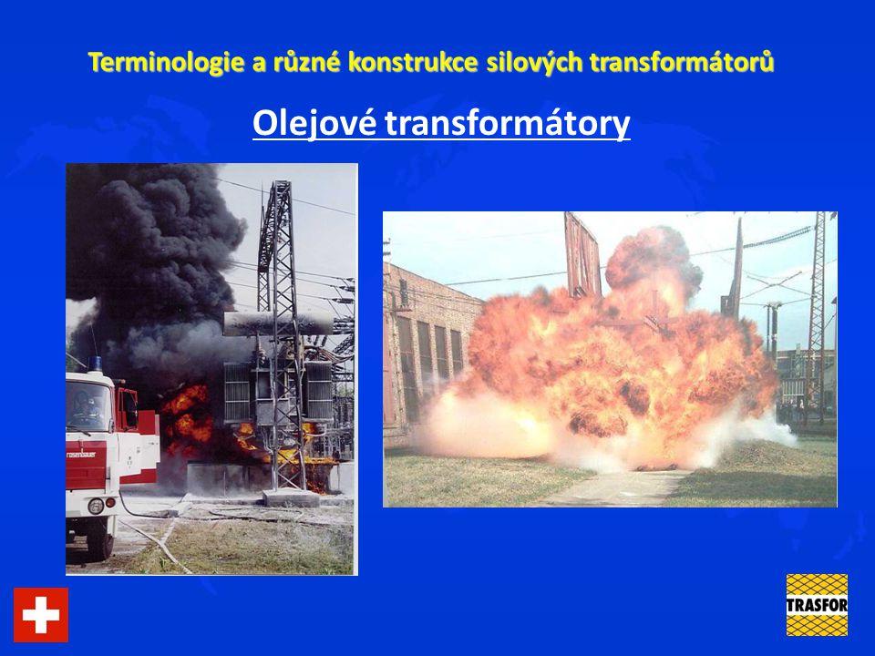 Olejové transformátory