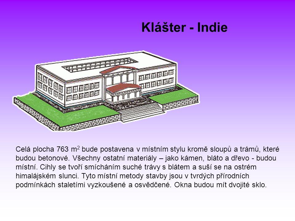 Klášter - Indie