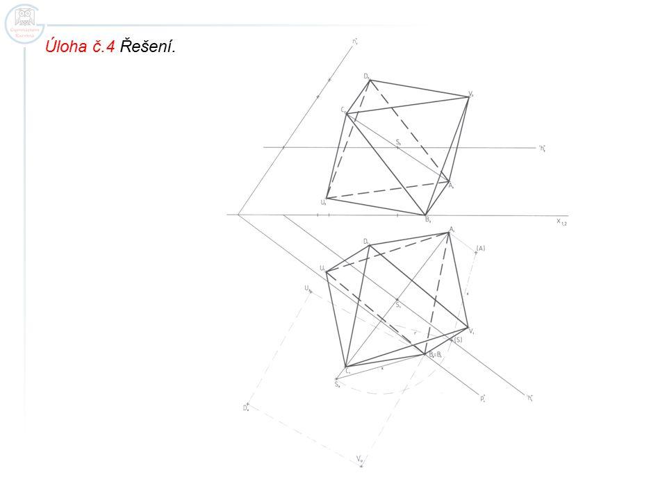 Úloha č.4 Řešení.