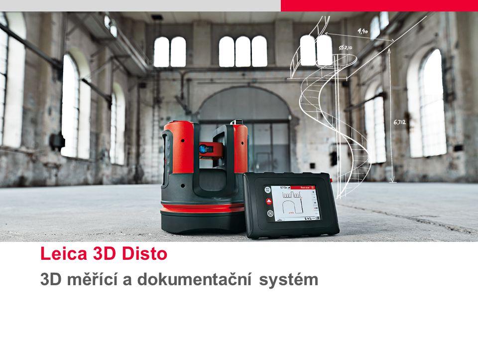 Leica 3D Disto 3D měřící a dokumentační systém