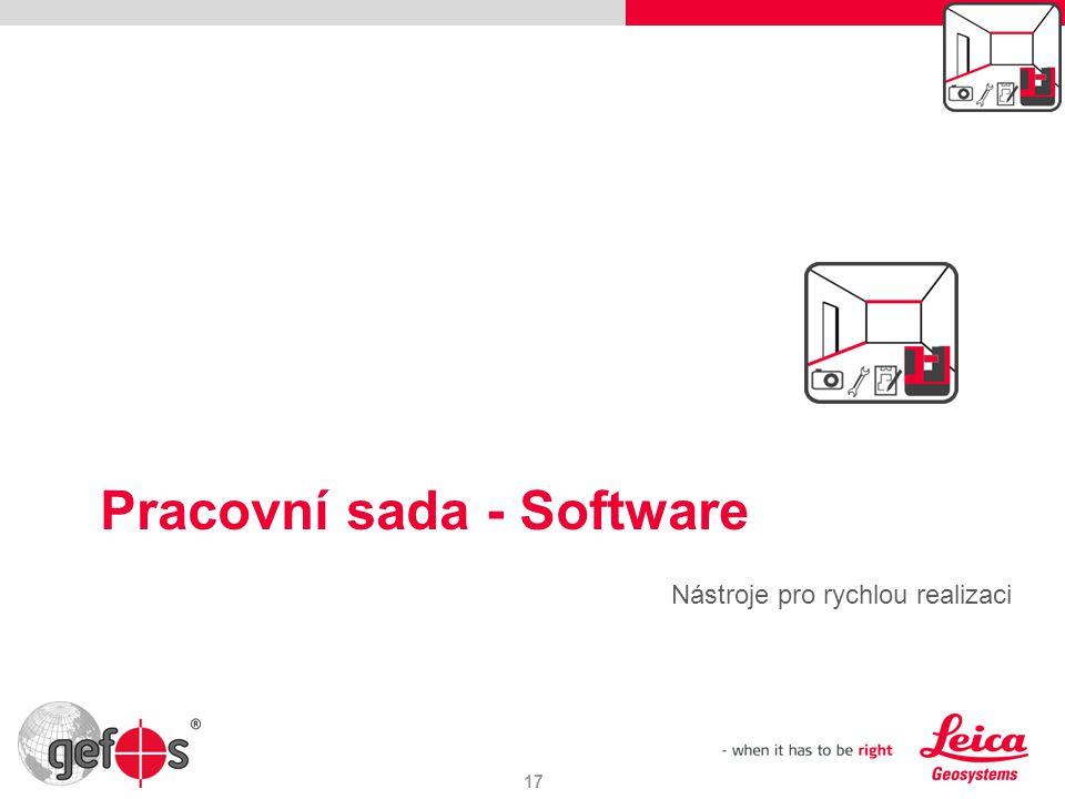 Pracovní sada - Software