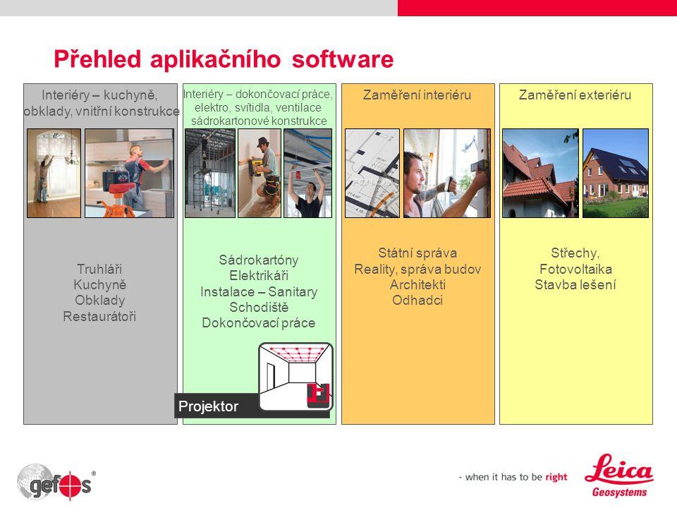 Přehled aplikačního software