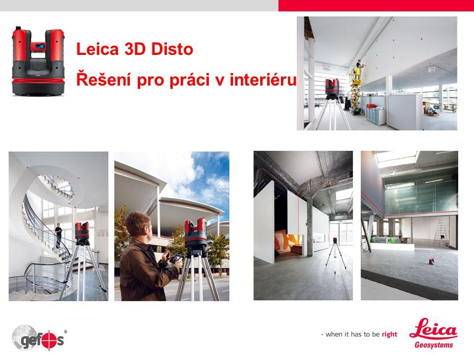 Leica 3D Disto Řešení pro práci v interiéru