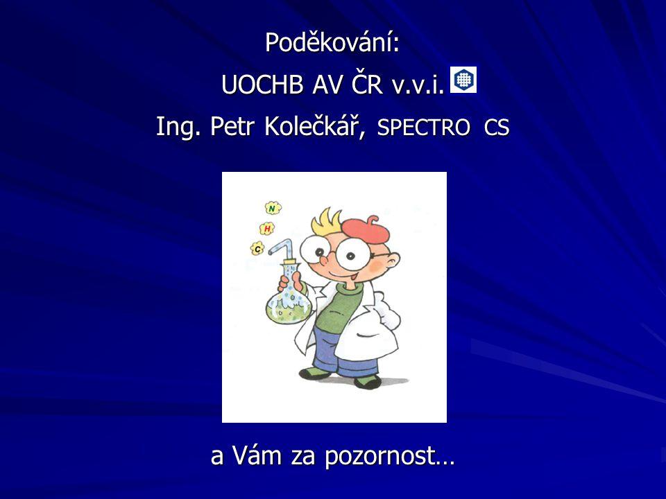 Ing. Petr Kolečkář, SPECTRO CS
