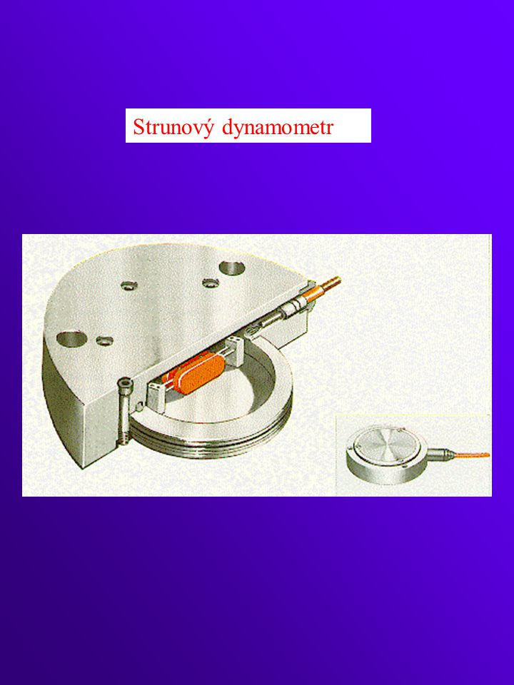 Strunový dynamometr