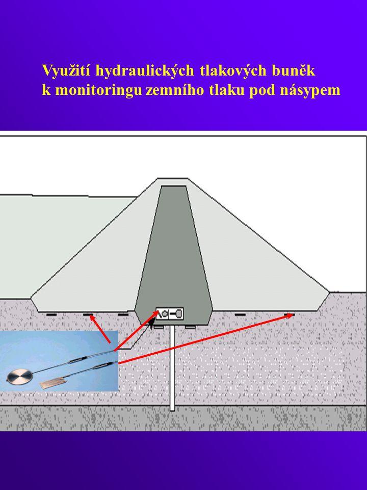Využití hydraulických tlakových buněk