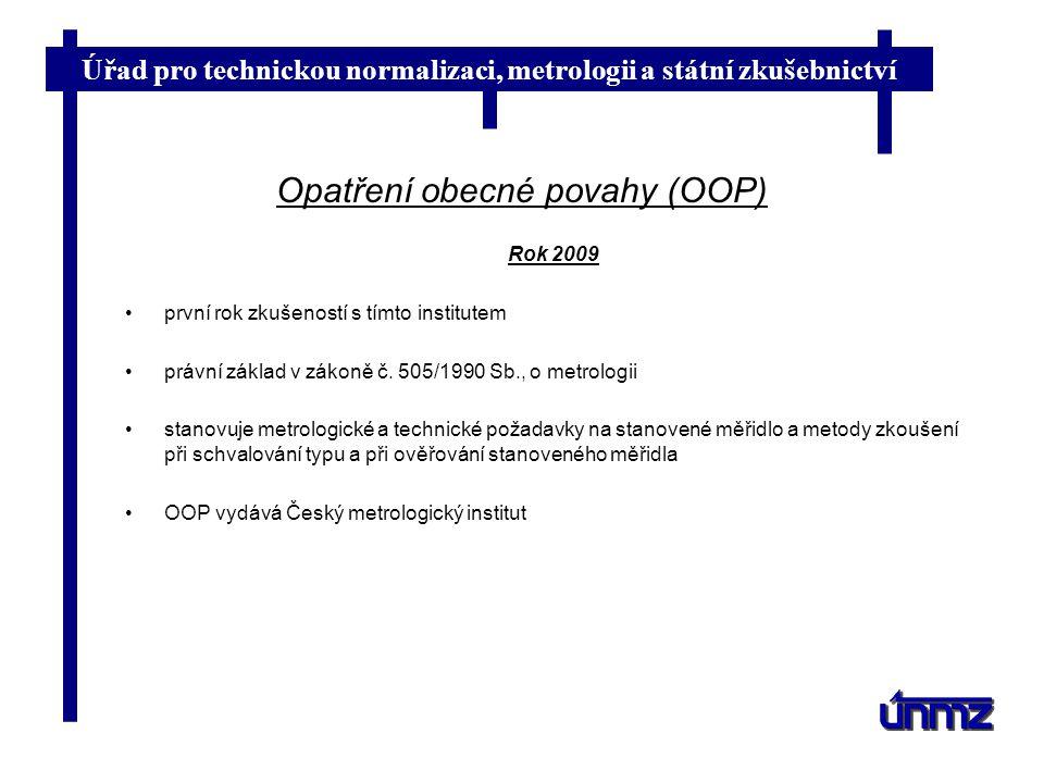 Opatření obecné povahy (OOP)