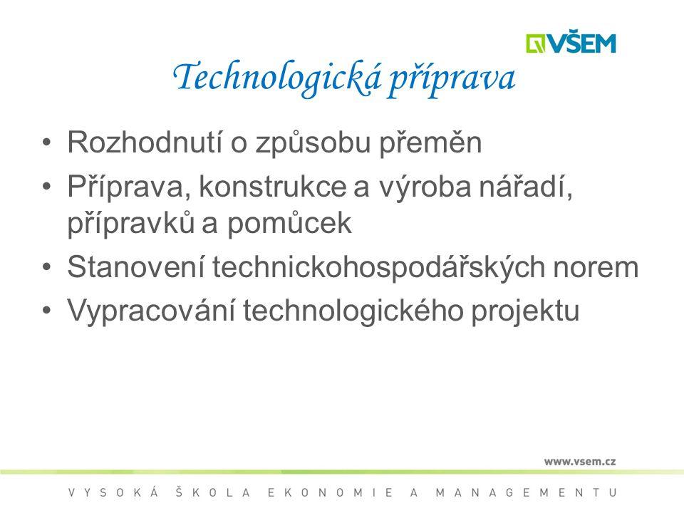 Technologická příprava
