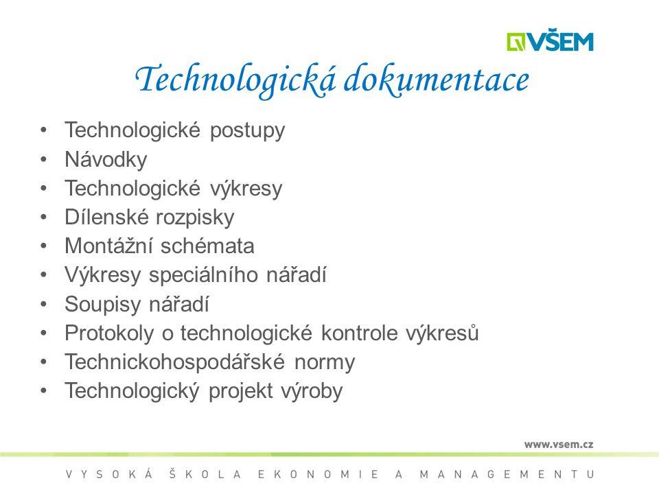 Technologická dokumentace