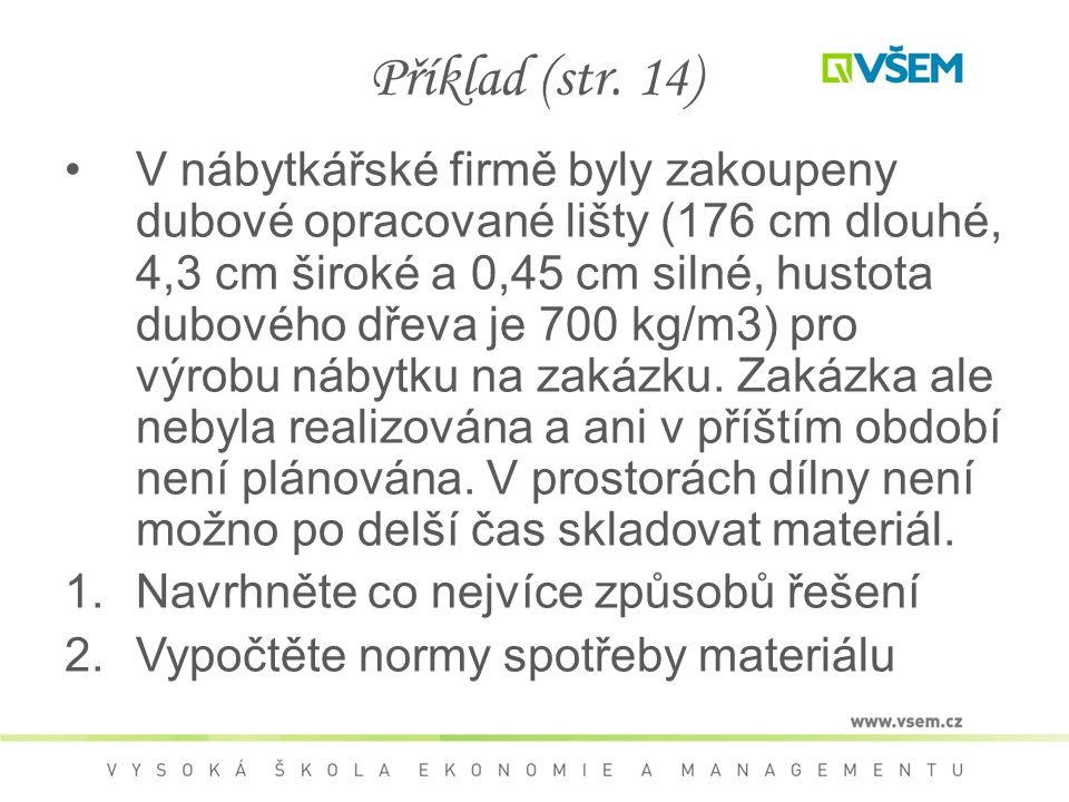 Příklad (str. 14)