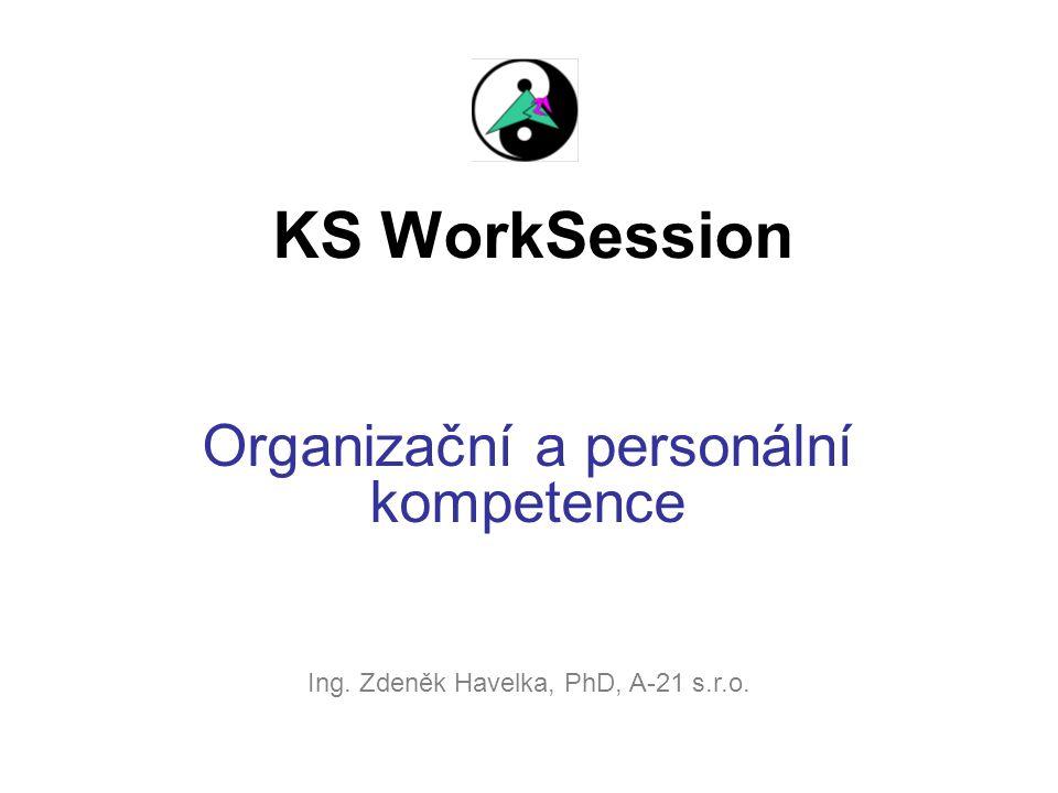 Organizační a personální kompetence