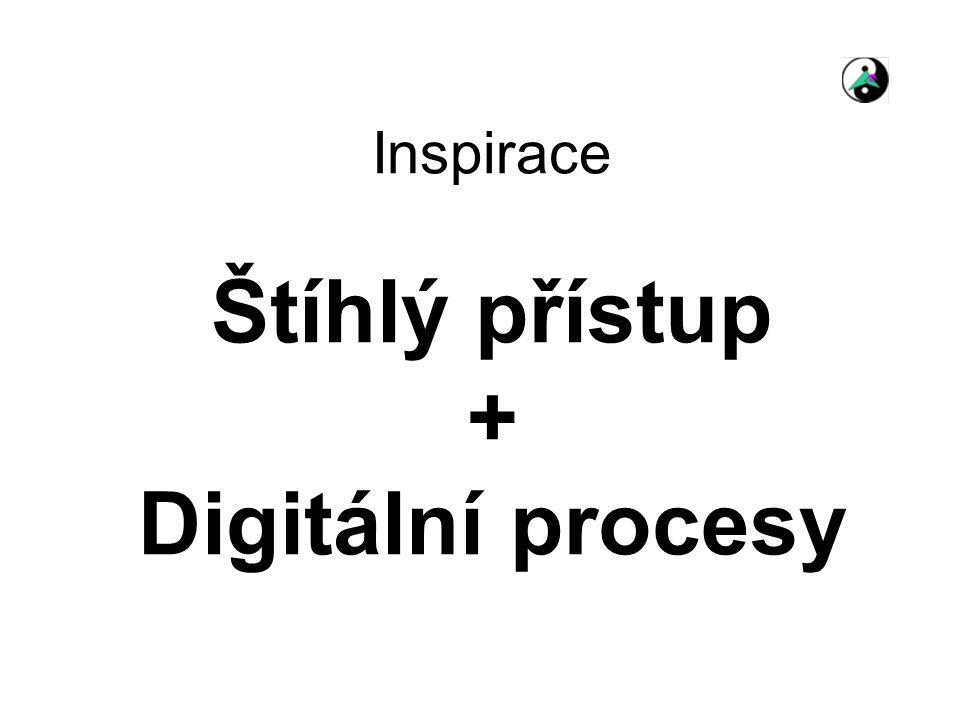 Inspirace Štíhlý přístup + Digitální procesy