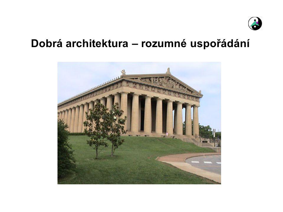 Dobrá architektura – rozumné uspořádání