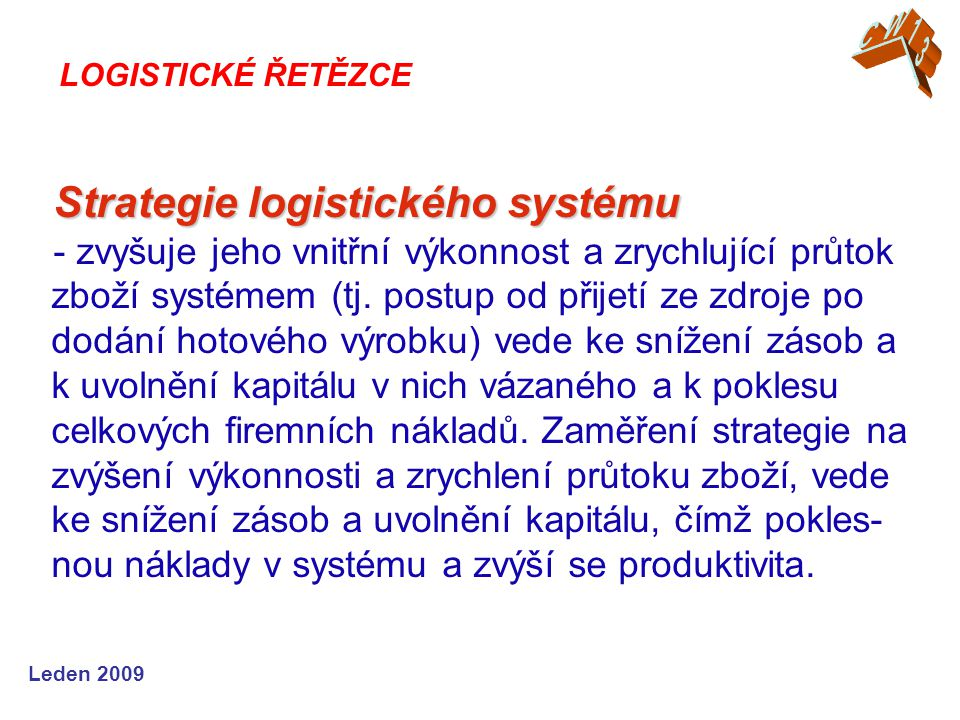 Strategie logistického systému