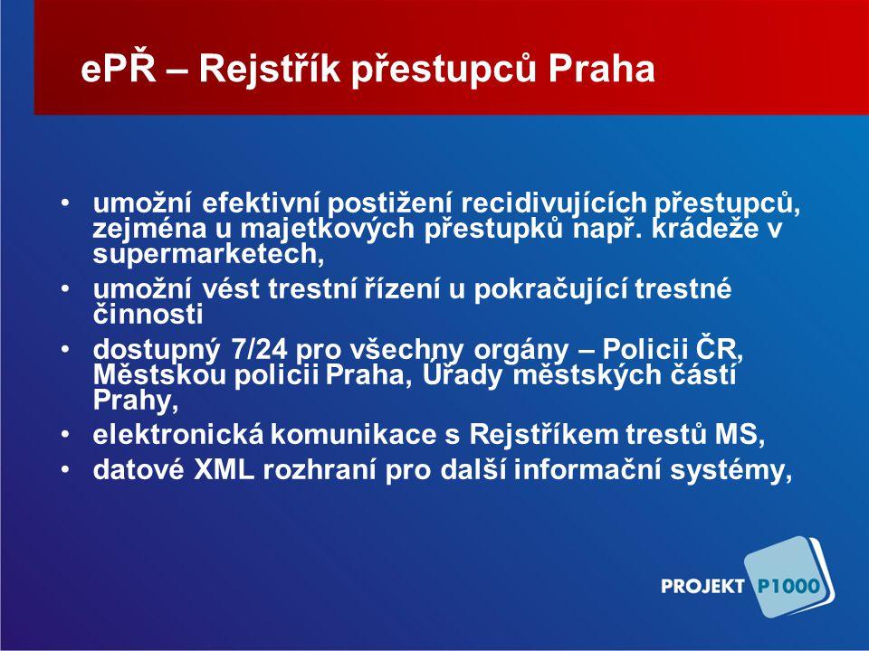 ePŘ – Rejstřík přestupců Praha
