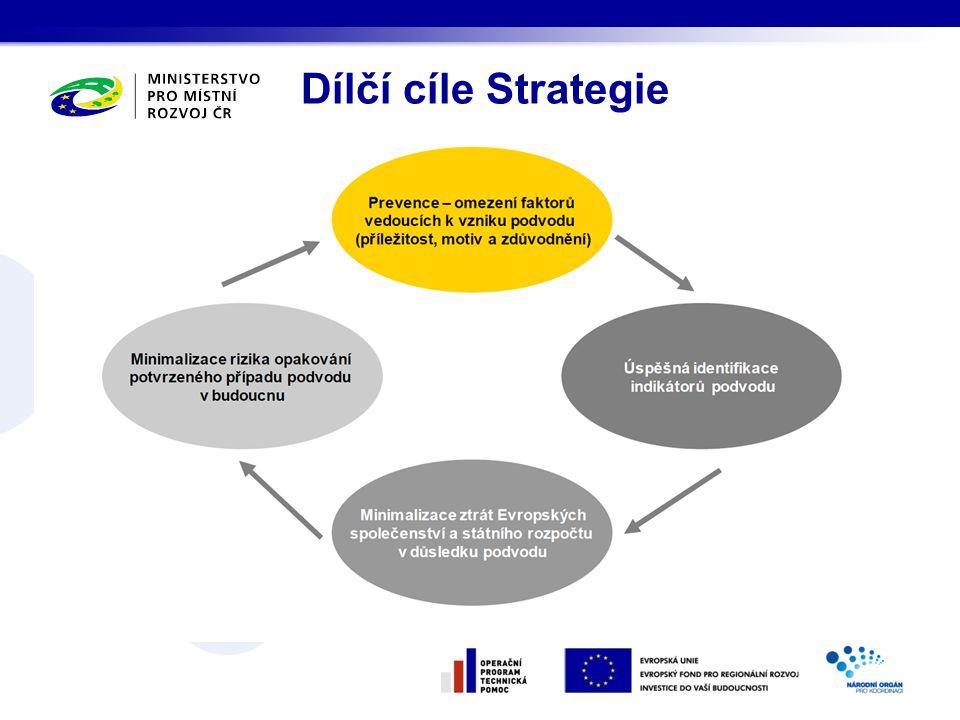 Dílčí cíle Strategie