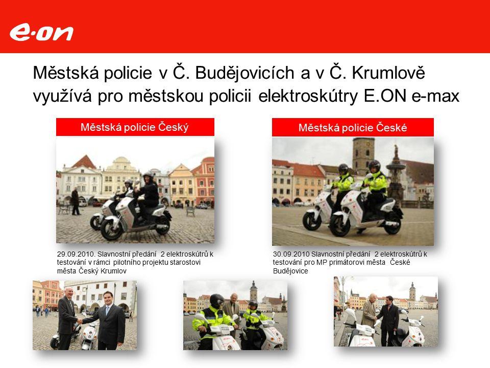Městská policie v Č. Budějovicích a v Č