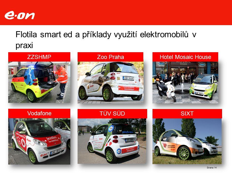 Flotila smart ed a příklady využití elektromobilů v praxi