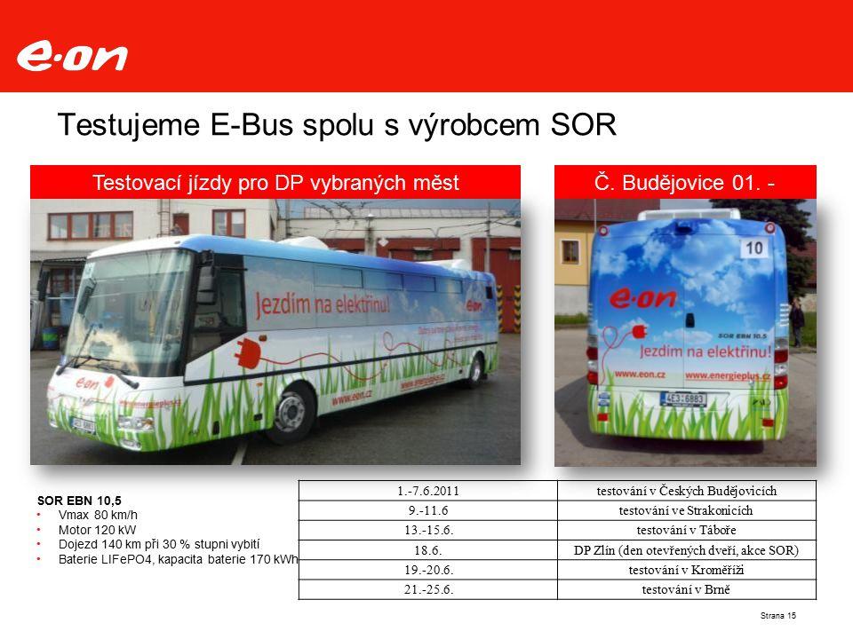 Testujeme E-Bus spolu s výrobcem SOR