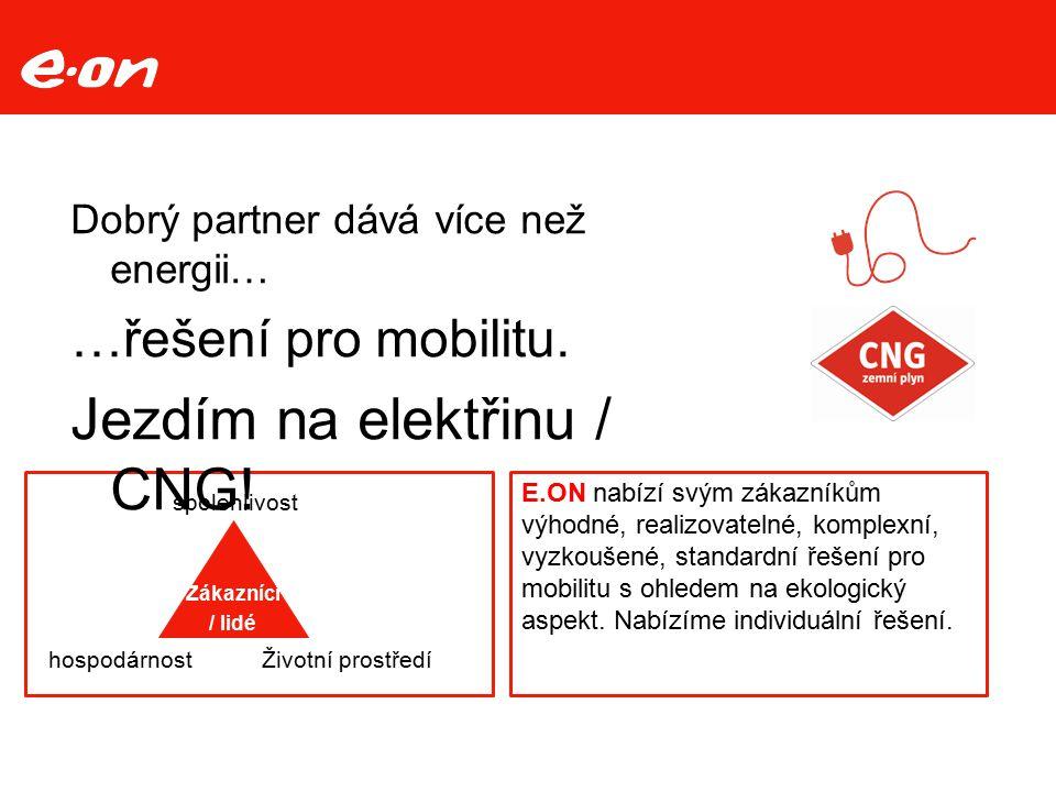 Jezdím na elektřinu / CNG!