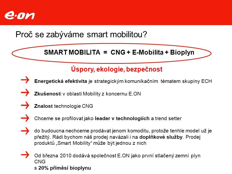 Proč se zabýváme smart mobilitou