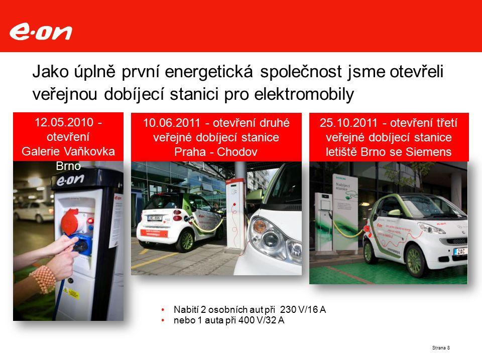 10.06.2011 - otevření druhé veřejné dobíjecí stanice Praha - Chodov