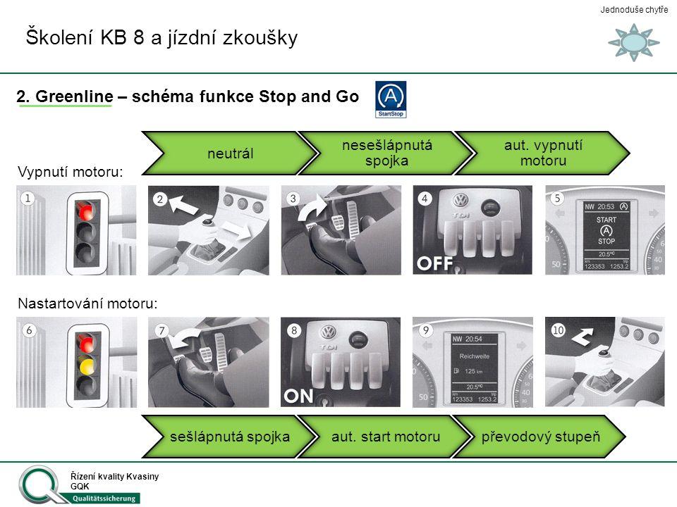 Školení KB 8 a jízdní zkoušky