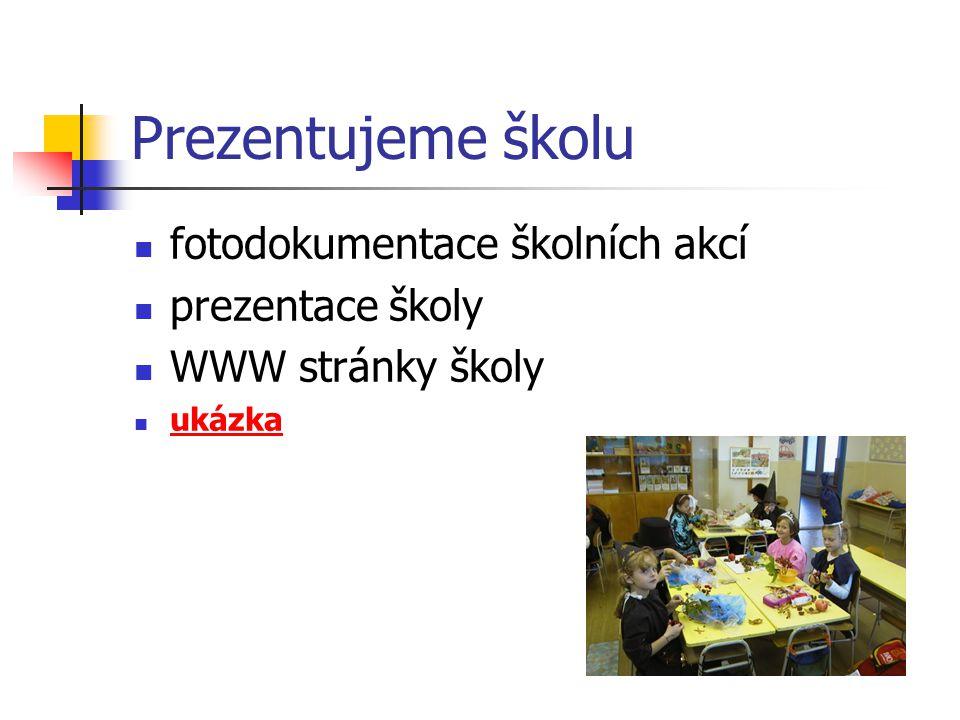 Prezentujeme školu fotodokumentace školních akcí prezentace školy