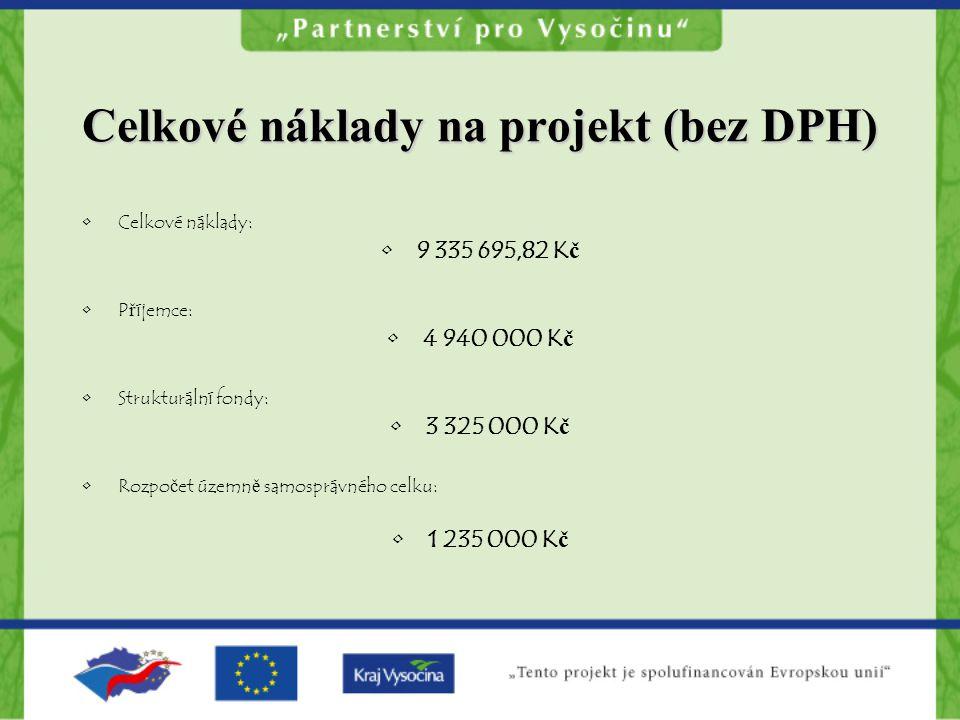 Celkové náklady na projekt (bez DPH)