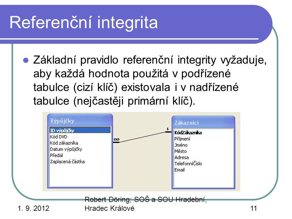 Referenční integrita