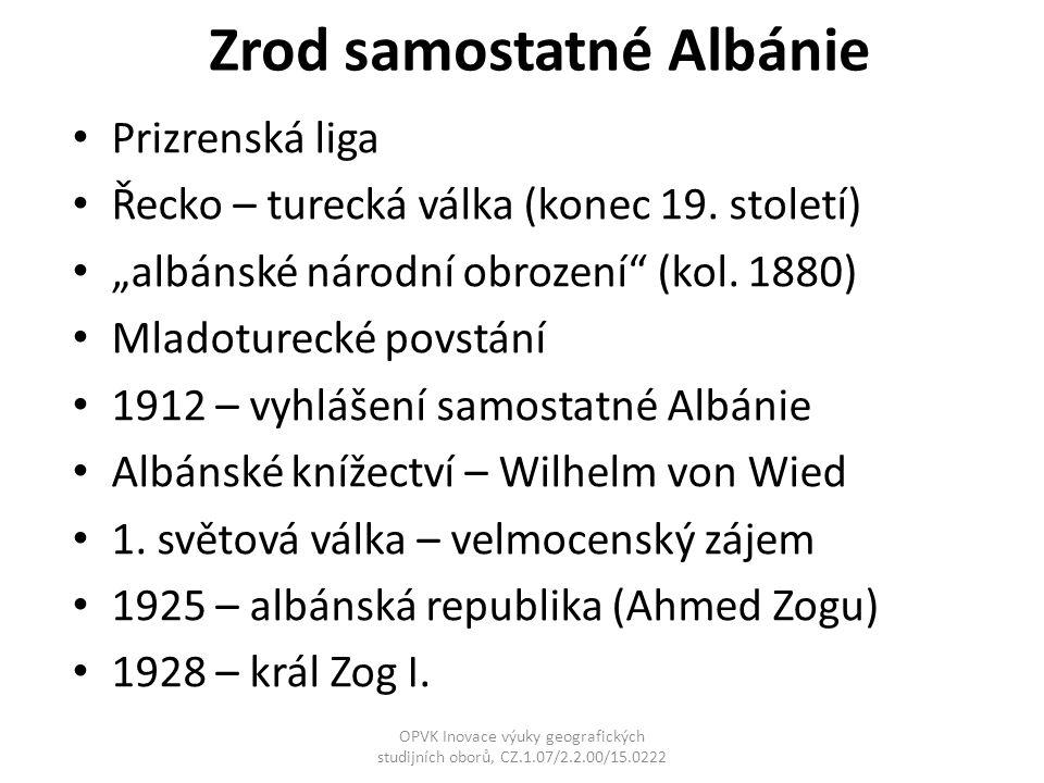 Zrod samostatné Albánie